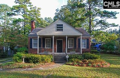 Columbia Single Family Home For Sale: 3707 Trenholm