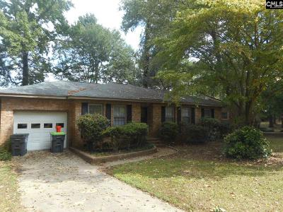 Columbia SC Single Family Home For Sale: $88,900