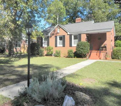 Columbia SC Single Family Home For Sale: $152,900
