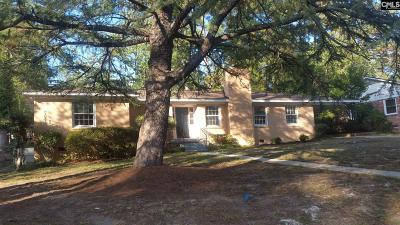 Forest Acres Single Family Home For Sale: 3119 Travis