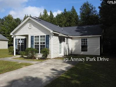 Columbia Single Family Home For Sale: 151 Annacy Park