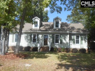 West Columbia Single Family Home For Sale: 711 Shadowfield