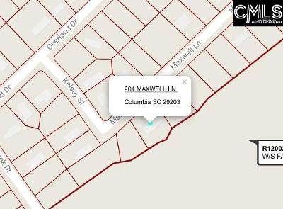 Columbia Residential Lots & Land For Sale: 204 Maxwell