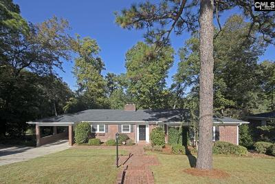 Forest Acres Single Family Home For Sale: 311 Laurel Springs