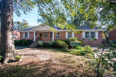 Cayce Single Family Home For Sale: 1021 Pine #10