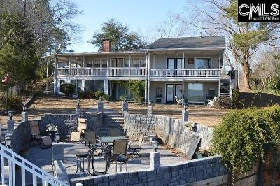 Wateree Hills, Lake Wateree Single Family Home For Sale: 1602 Lake