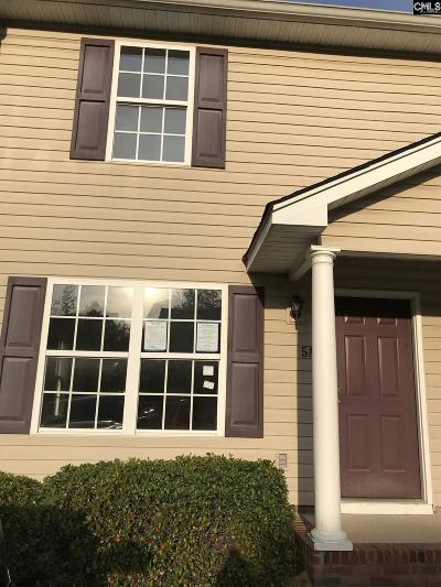 Lexington County, Richland County Townhouse For Sale: 1117 Piney Woods #5A