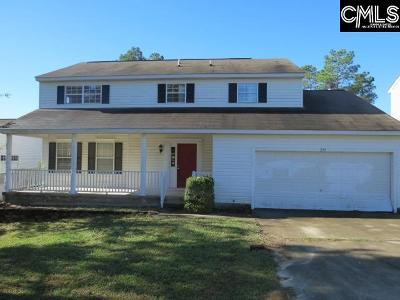 West Columbia Single Family Home For Sale: 209 Orchard Hill
