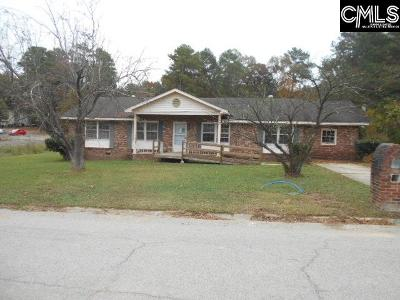 Columbia SC Single Family Home For Sale: $54,000