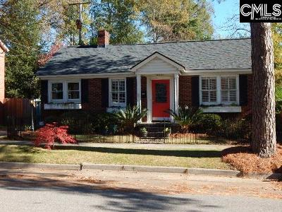 Richland County Single Family Home For Sale: 2510 Sumter