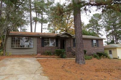 Irmo Single Family Home For Sale: 1500 Hollingshed