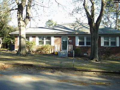 Columbia SC Single Family Home For Sale: $133,750