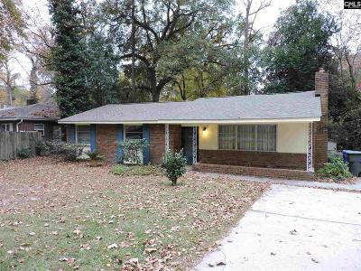 Columbia SC Single Family Home For Sale: $189,900