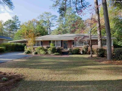 Forest Acres Single Family Home For Sale: 6439 Sylvan