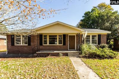 Columbia SC Single Family Home For Sale: $147,000