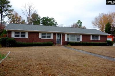 West Columbia Single Family Home For Sale: 2700 Morningdale