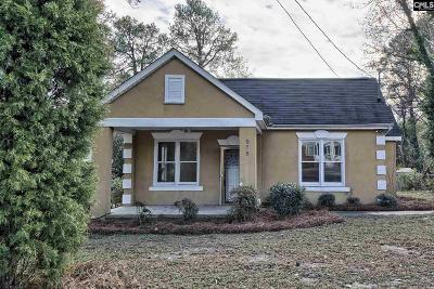 Columbia SC Single Family Home For Sale: $72,000