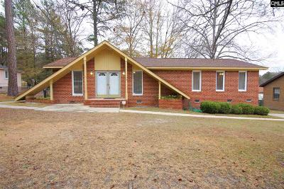 Columbia SC Single Family Home For Sale: $110,000