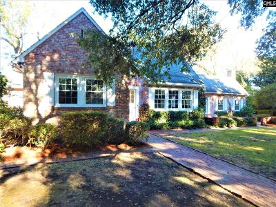Camden Single Family Home For Sale: 1820 Brevard Place