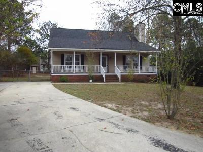 Columbia SC Single Family Home For Sale: $96,000