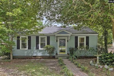 Columbia SC Single Family Home For Sale: $97,500