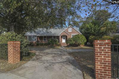 Columbia Single Family Home For Sale: 3911 Devine