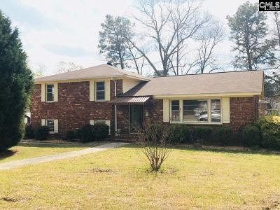 Cayce Single Family Home For Sale: 110 Shadow