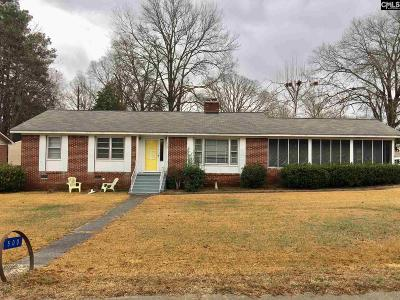 Saluda Single Family Home For Sale: 500 N Jefferson