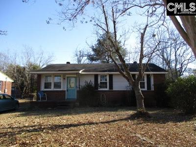 West Columbia Single Family Home For Sale: 1349 Finlay