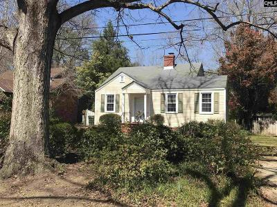 Camden Single Family Home For Sale: 138 Desaussure