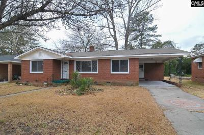 Cayce Single Family Home For Sale: 2336 Camelia