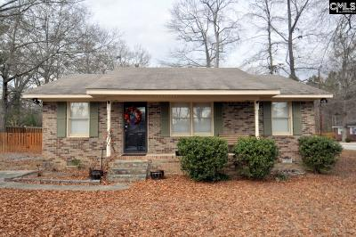Newberry Single Family Home For Sale: 1541 Trent