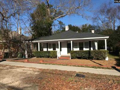 Camden Single Family Home For Sale: 608 Hampton