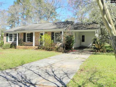 Lexington County, Richland County Single Family Home For Sale: 3315 Montcrest