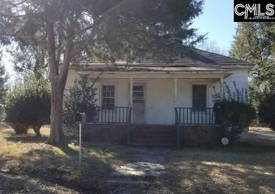 Batesburg Single Family Home For Sale: 143 S Ridgell