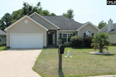 Columbia Single Family Home For Sale: 137 Caughman Ridge