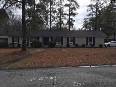 Columbia SC Single Family Home For Sale: $159,999