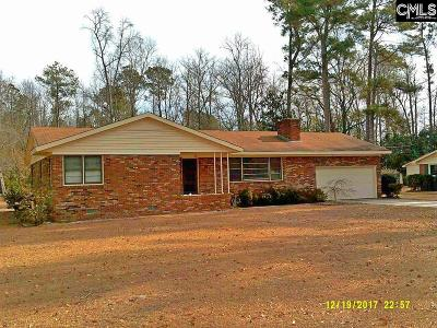 Batesburg Single Family Home For Sale: 226 Mitchell