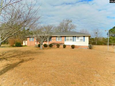 Batesburg Single Family Home For Sale: 7360 Two Notch