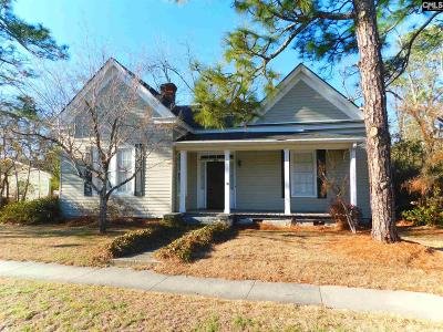 Batesburg, Leesville Single Family Home For Sale: 243 E Columbia