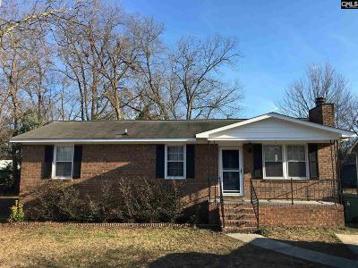 Cayce Single Family Home For Sale: 1407 Hemlock