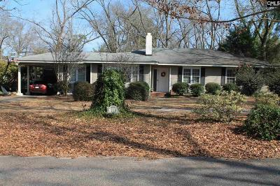 Batesburg Single Family Home For Sale: 110 Schoolhouse