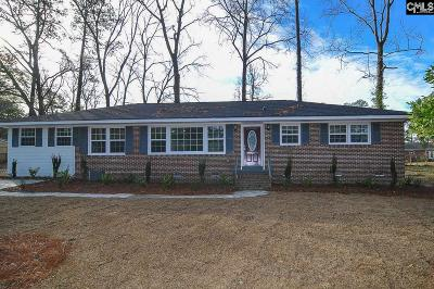 Forest Acres Single Family Home For Sale: 6539 Haley