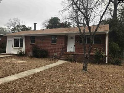 Single Family Home For Sale: 2707 Holt