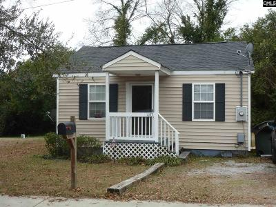 Columbia SC Single Family Home For Sale: $53,900