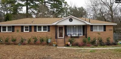 Forest Acres Single Family Home For Sale: 5428 Pinestraw