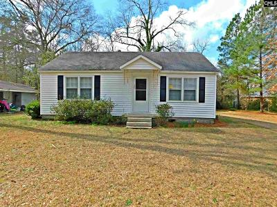 Batesburg SC Single Family Home For Sale: $79,900