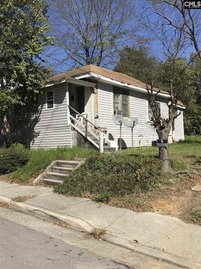 Columbia Single Family Home For Sale: 1020 Tree