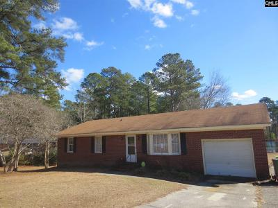 Columbia SC Single Family Home For Sale: $78,000