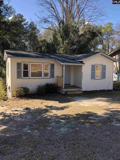Columbia SC Single Family Home For Sale: $42,500